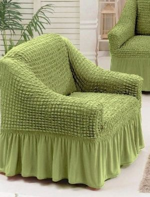 husa fotoliu verde